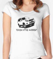 Prado - Baby - Tough Little Mudder - Toyota Women's Fitted Scoop T-Shirt