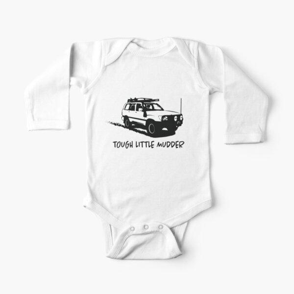 Landcruiser - Tough Little Mudder - Toyota Long Sleeve Baby One-Piece