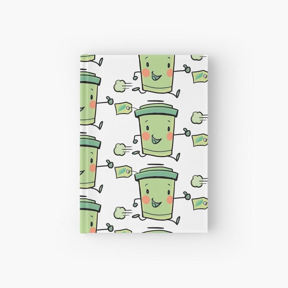 express green tea Hardcover Journal