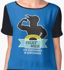 Fight Milk Chiffon Top