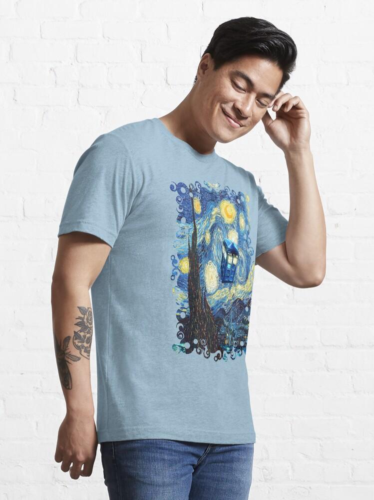 Alternate view of Flying Magic Phone Box Essential T-Shirt