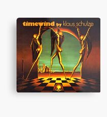 Klaus Schulze - Timewind Metal Print