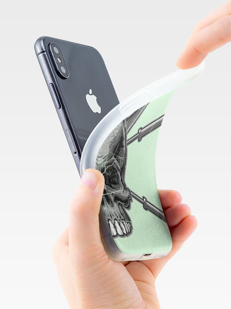 Alternative Ansicht von Kettlebell Crossed Barbells (ausgewaschen) iPhone-Hülle & Cover