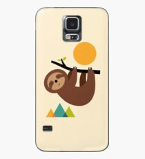 Bleib ruhig und lebe langsam Hülle & Klebefolie für Samsung Galaxy