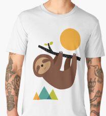 Keep Calm And Live Slow Men's Premium T-Shirt