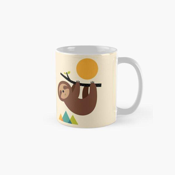 Keep Calm And Live Slow Classic Mug
