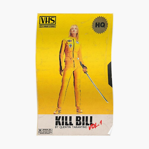 Kill Bill VHS Póster