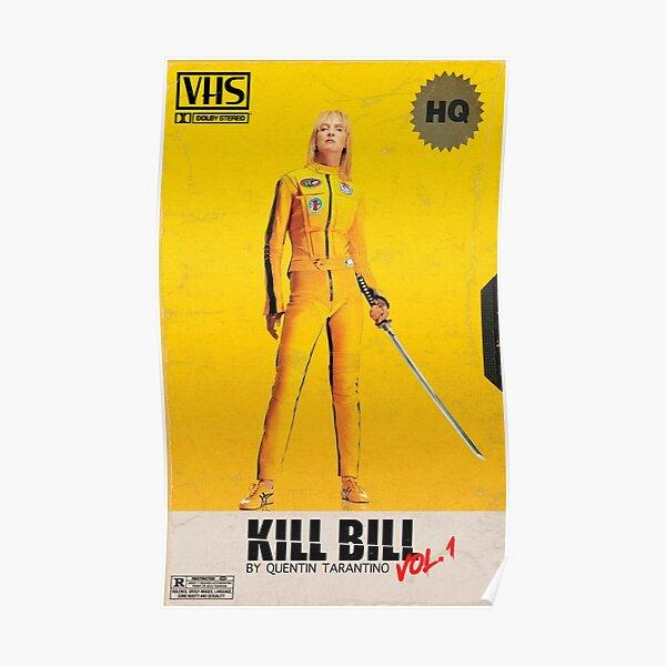 Kill Bill VHS Poster