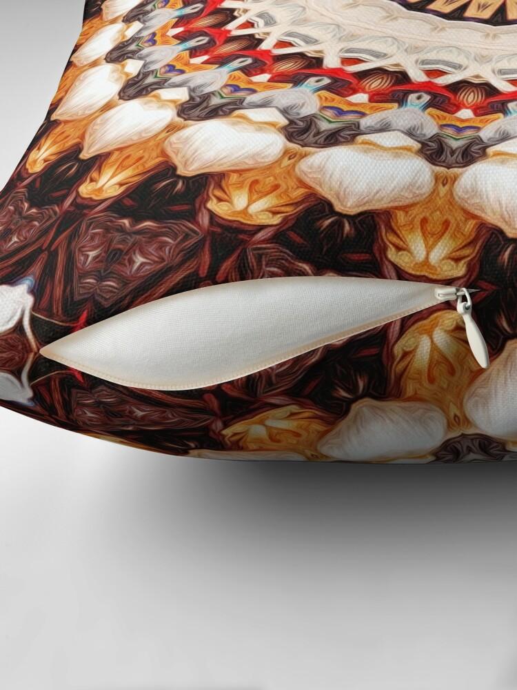 Alternate view of Garlic And Yarn Throw Pillow