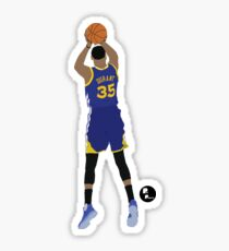 Kevin Durant Minimalist Art // Phone cases, shirts, stickers and more Sticker