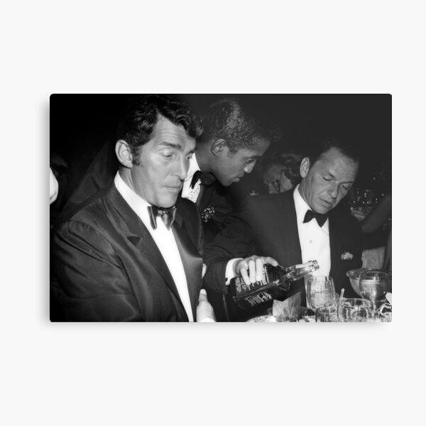 Frank Sinatra Drank American Whiskey His Way Metal Print