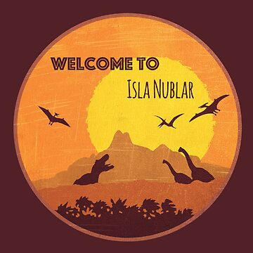 Welcome to Isla Nublar by mctees