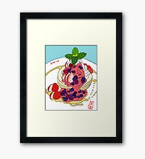 Very Berry Pancakes Framed Print