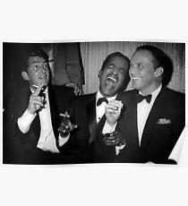 Frank Sinatra, Dean Martin, Sammy Davis Jr. Lachen Poster