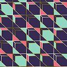Ultra Deco 2 #redbubble #ultraviolet #artdeco by designdn