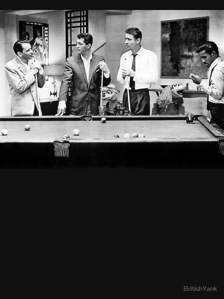 The Rat Pack Shooting Pool Classic T Shirt