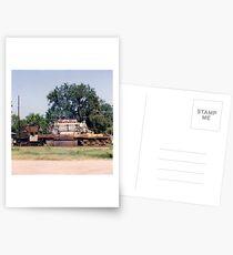 Union Pacific Engine Postcards