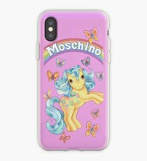 MOSCHINO Blackpink my little pony phone case iPhone Case