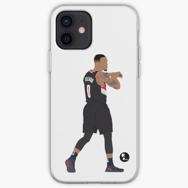 Damian Lillard 'DameTime' Minimalist Art // Phone cases, shirts, stickers and more iPhone Soft Case