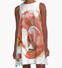 Wintersleep A-Line Dress