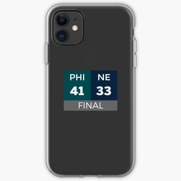 PHI 41 NE 33 iPhone Soft Case