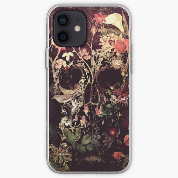 Bloom Skull iPhone Soft Case