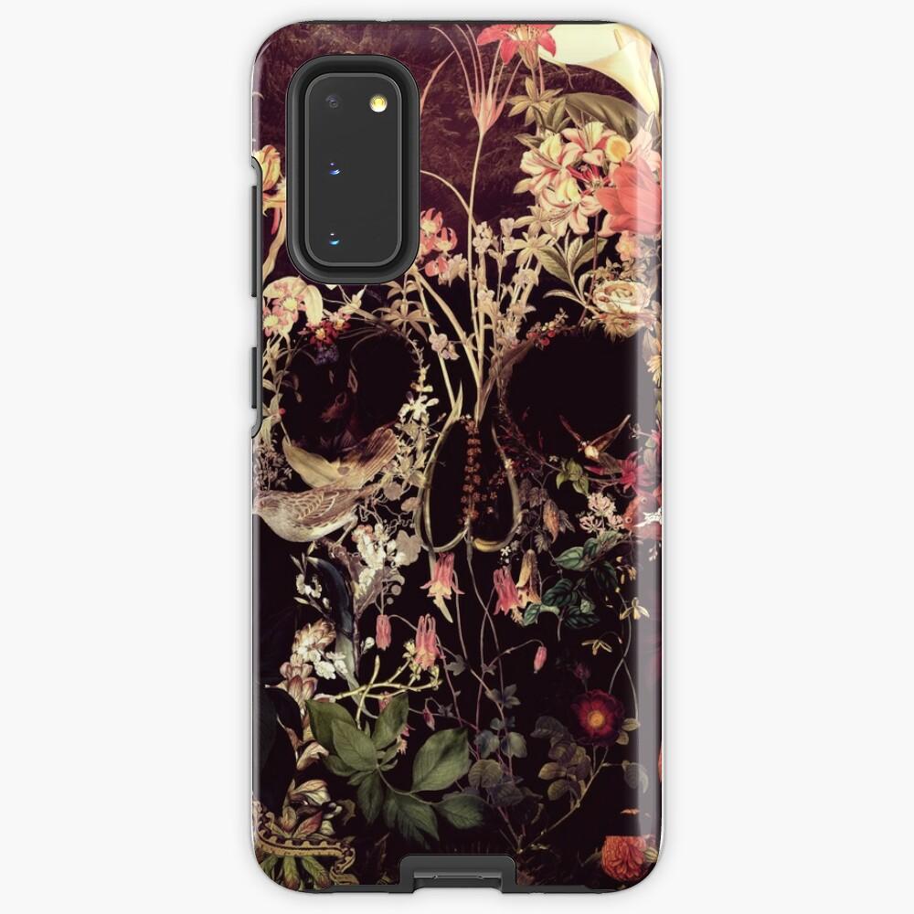 Bloom Skull Case & Skin for Samsung Galaxy