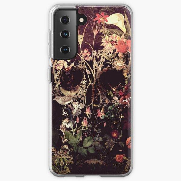 Bloom Skull Samsung Galaxy Soft Case