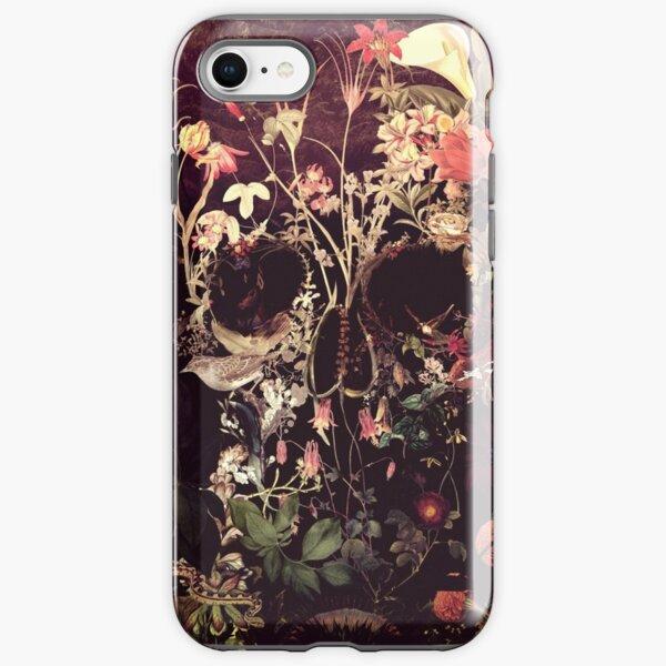 Bloom Skull iPhone Tough Case