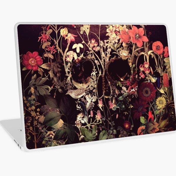 Bloom Skull Laptop Skin