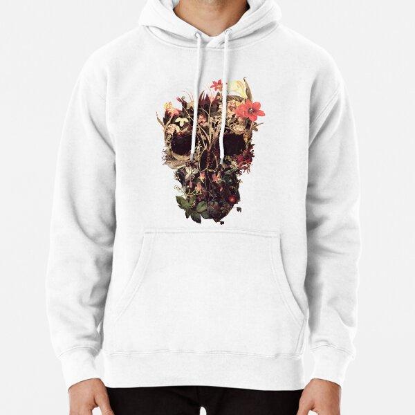 Bloom Skull Pullover Hoodie