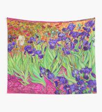 Vincent Van Gogh Purple Irises Wall Tapestry
