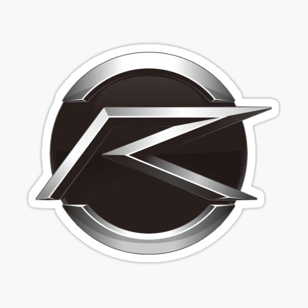 kamen rider drive logo sticker by vaking redbubble redbubble
