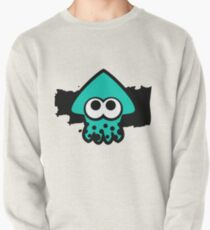 Splatoon Squid (Light Blue) Pullover