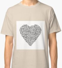 Heart - Airplane / Fighter Jets Classic T-Shirt
