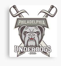 Philadelphia Underdogs 2018 Canvas Print
