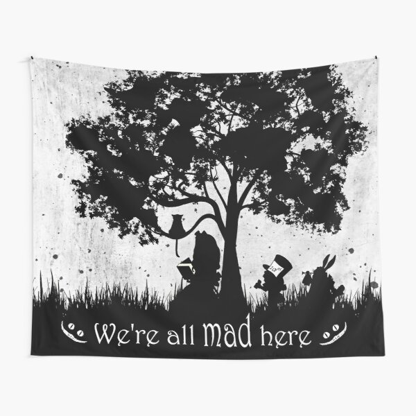 We're All Mad Here Tapestry