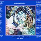 Simple Embrace- A collaboration with Amber by Cheryle  Bannon