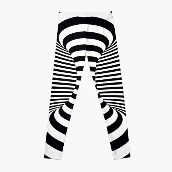 Optical tornado wind Leggings