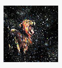 Der Löwe schläft nicht mehr Fotodruck
