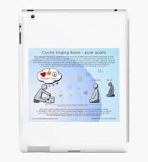 Crystal Singing Bowls  iPad-Hülle & Klebefolie