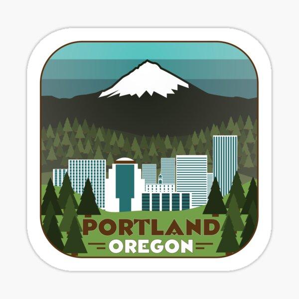 Portland Badge Sticker