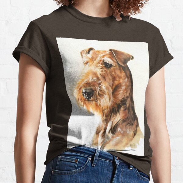 Airedale Terrier in Color Classic T-Shirt