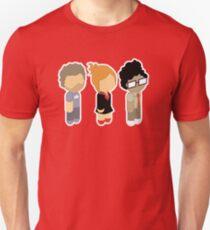 Chibi Roy Moss and Jen Unisex T-Shirt