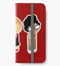 Chibi Roy Moss and Jen iPhone Wallet/Case/Skin