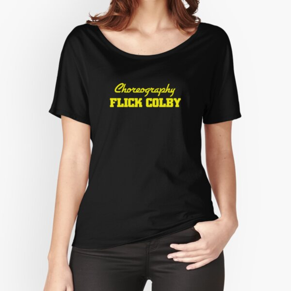It's Top Of The Pops! A tribute to TV's finest choreographer: Flick Colby Relaxed Fit T-Shirt