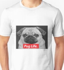 Pug Life Slim Fit T-Shirt