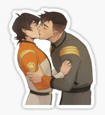 Garrison Kiss (Left) Sticker