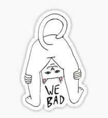 RIPNDIP We Bad Cat Sticker