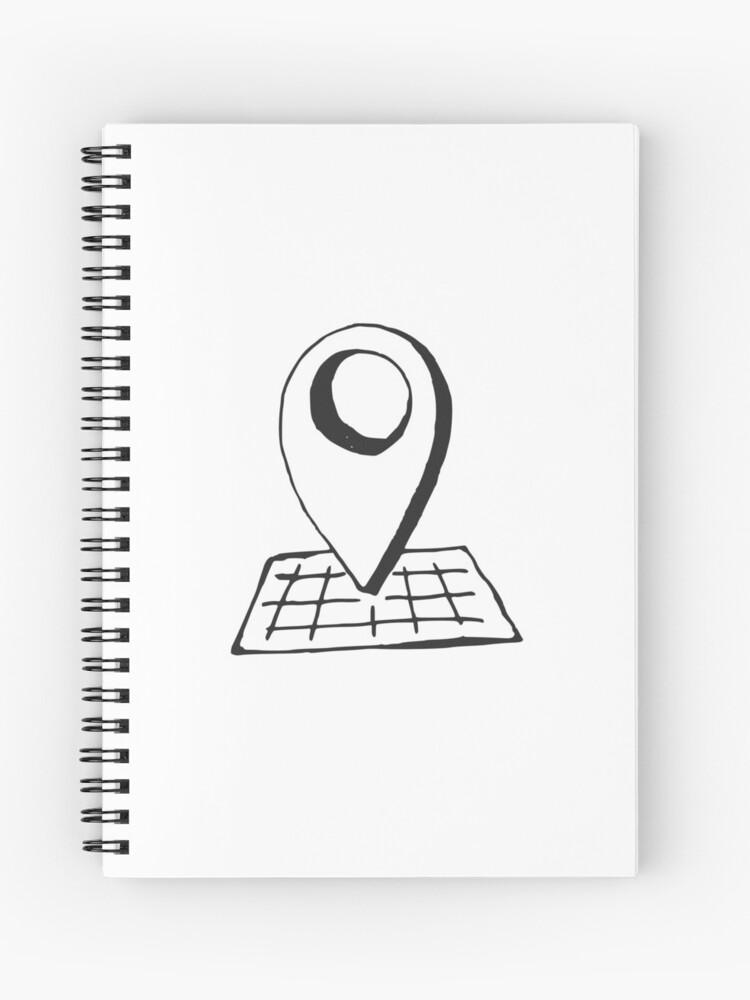 Hand drawn sketch illustration icon of geo-location symbol on the map on phone symbol, services symbol, print symbol, level symbol, world wide web symbol, links symbol, map place symbol, map key symbols, menu symbol, map locator symbol, check in symbol, time symbol, map scale symbol, map distance symbol, map pin icon, sign you are here symbol, name symbol, about us symbol, area symbol, map locator icon,